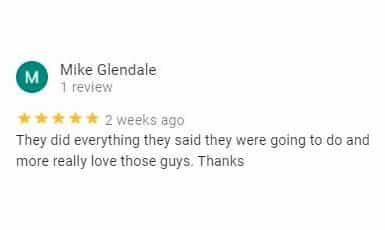 five star customer review